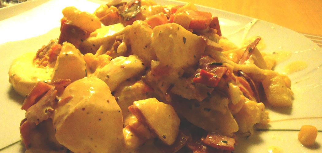 Kartoffelauflauf - Quer durch den Kühlschrank