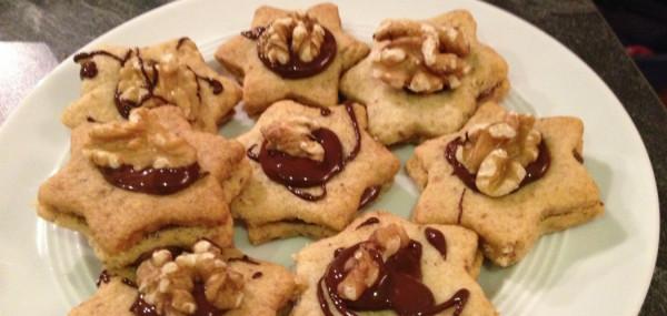 walnuss kekse