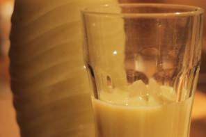 Beschwipste Bananenmilch