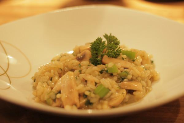 champignon-risotto